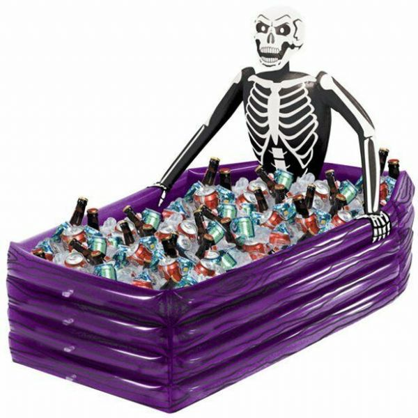 Halloween Skeleton Inflatable Cooler - 109cm